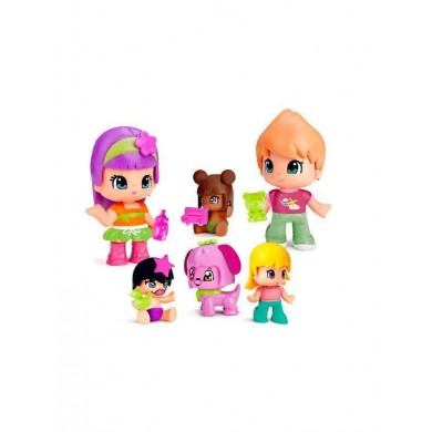 Figuras Bebes Pinypon Pack 6