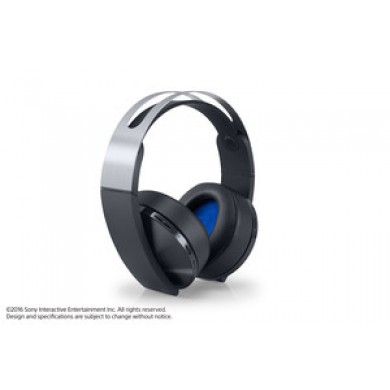 Wireless Stereo O2 Headset Platinum Ps4 -