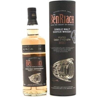 Fuerza Benriach Peated Cask (Lote 1) - 70cl 56%
