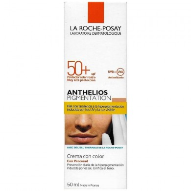 ANTHELIOS PIGMENTACIÓN CREMA C / COLOR SPF50 + 50 ML